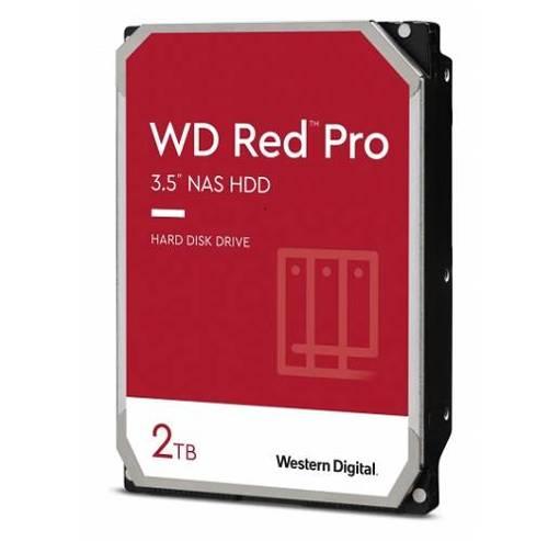 Dysk twardy Western Digital RED PRO 3.5'' HDD 2TB 7200RPM SATA 6Gb/s 64MB | WD2002FFSX